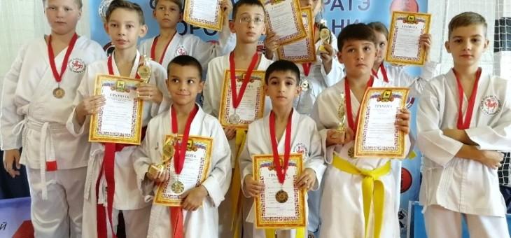 Поздравляем победителей и призеров турнира по Олимпийскому каратэ WKF