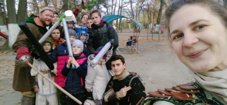 Спортивно-игровая программа «Спортивный марафон» в парке Винновская роща