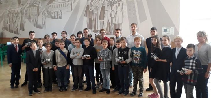 Мастер-класс по робототехнике в Областном Дворце творчества детей и молодежи