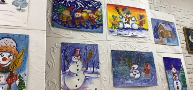 Зимушка-зима и парад веселых снеговиков!