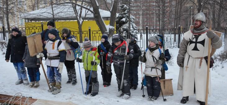 Активные и спортивные! Педагоги ЦДТ №4 и их воспитанники в День снега