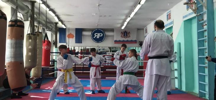 Городской мастер-класс по каратэ педагога Зенина С.А.