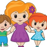 mother-and-children-vector-939114