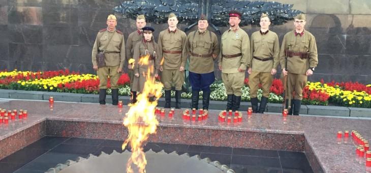 «22 июня в 4 часа утра…» На рассвете у Обелиска ЦДТ №4 вспомнили начало Великой Отечественной войны